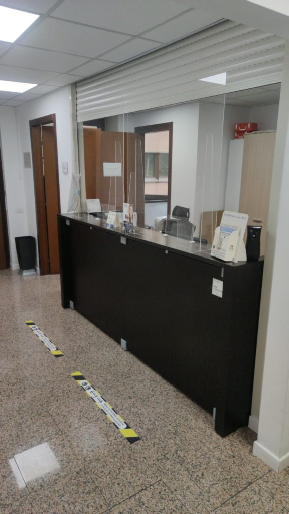Reception sicura Covid-19