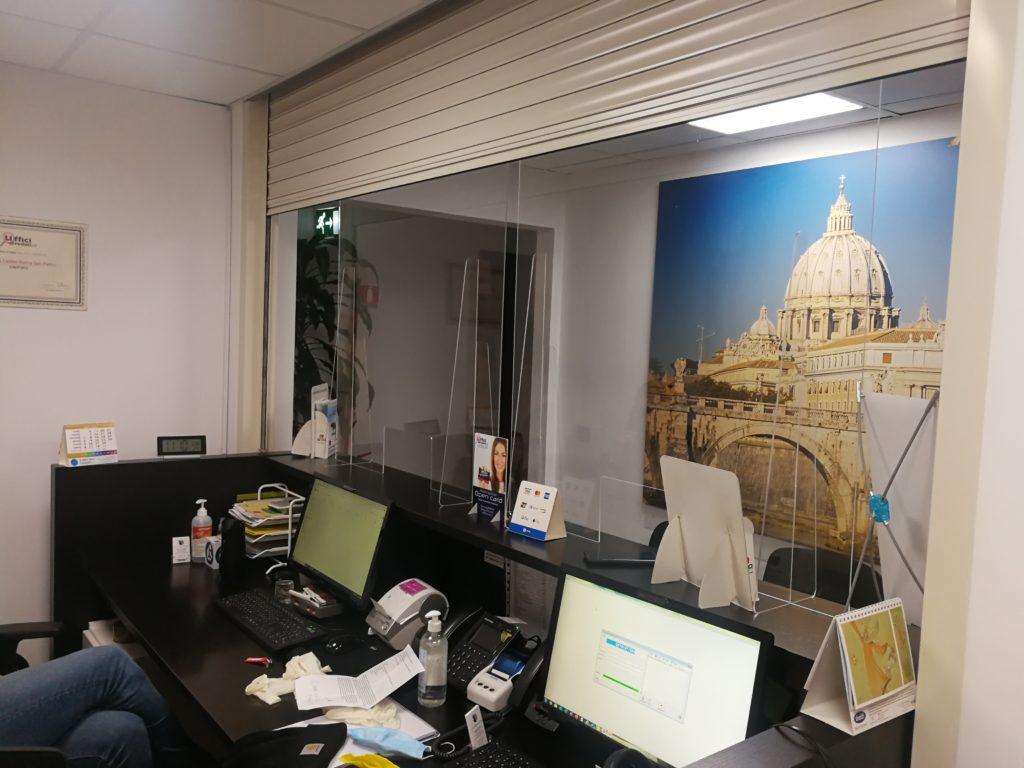 Sicurezza clienti occasionali e residenziali reception